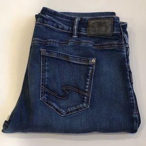 Silver Suki Slim Boot Jeans